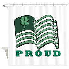 Proud Irish American Shower Curtain