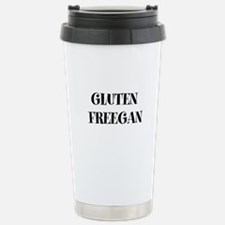 GLUTEN FREEGAN Stainless Steel Travel Mug
