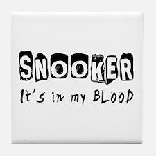 Snooker Designs Tile Coaster