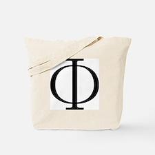Greek Phi Golden Ratio Tote Bag