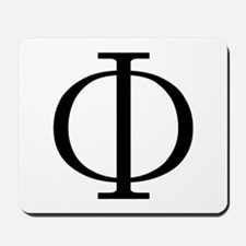 Greek Phi Golden Ratio Mousepad