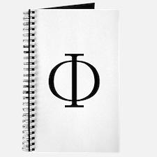 Greek Phi Golden Ratio Journal