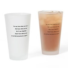 E-911 Drinking Glass
