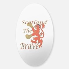 Scotland the Brave Boxing Decal