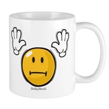 fright smiley Mug