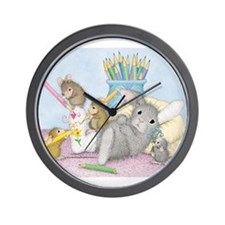 Cast of Characters Wall Clock
