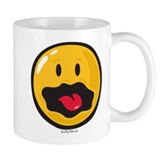 scared smiley Mug