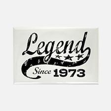 Legend Since 1973 Rectangle Magnet