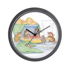Italian Feast Wall Clock