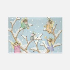 Angels Up High Rectangle Magnet