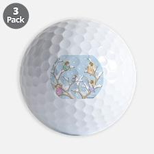 Angels Up High Golf Ball