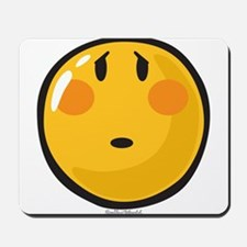 Timid smiley Mousepad