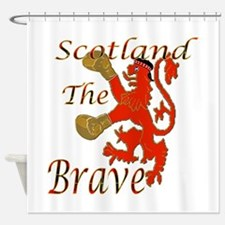 Scotland the Brave Boxing Shower Curtain