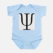 Greek 23rd Letter Psi Infant Bodysuit