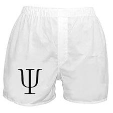 Greek 23rd Letter Psi Boxer Shorts