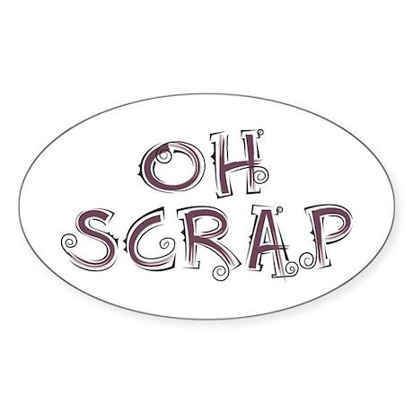 Oh Scrap Rectangle Sticker