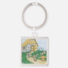 Scuttle School Square Keychain