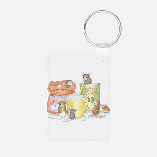 Hot Cocoa Social Keychains