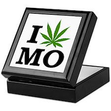 I Love Cannabis Missouri Keepsake Box