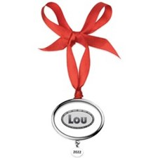 Love you. Large Heart Pet Tag