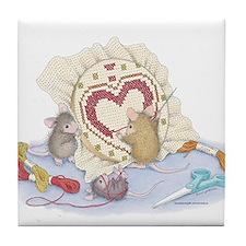 Love you. Tile Coaster