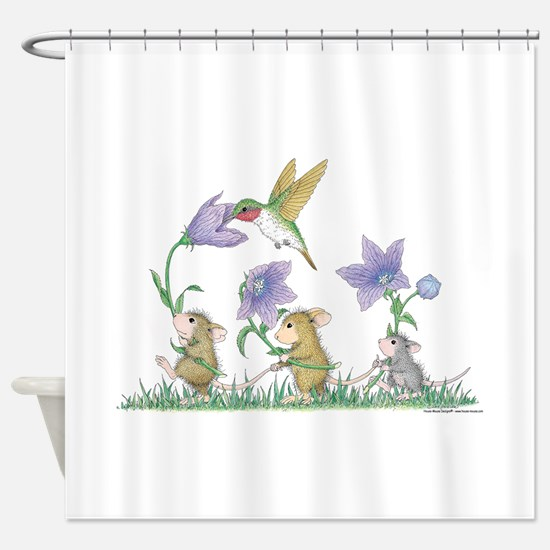 A Spring Tail Shower Curtain