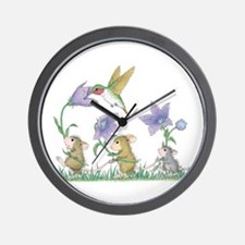 A Spring Tail Wall Clock