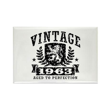 Vintage 1963 Rectangle Magnet