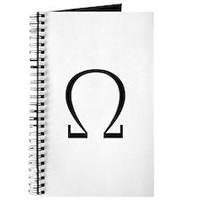 Greek Omega Symbol Journal