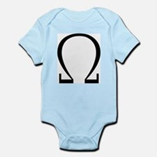 Greek Omega Symbol Infant Bodysuit