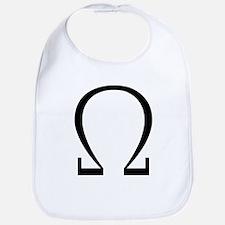 Greek Omega Symbol Bib