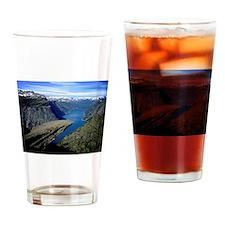 Trolltunga (Troll toungue) Drinking Glass