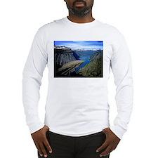 Trolltunga (Troll toungue) Long Sleeve T-Shirt