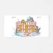 Ginger-Mouse Bakery Aluminum License Plate