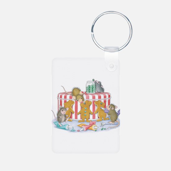 Ginger-Mouse Bakery Keychains