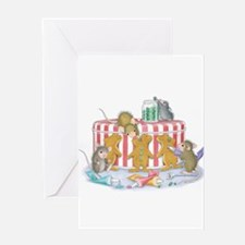Ginger-Mouse Bakery Greeting Card
