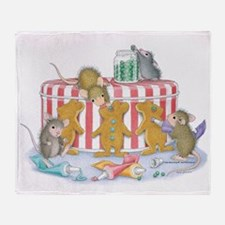 Ginger-Mouse Bakery Throw Blanket