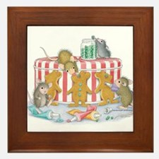Ginger-Mouse Bakery Framed Tile