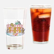 Ginger-Mouse Bakery Drinking Glass