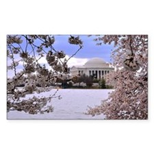 Thomas Jefferson Memorial Decal