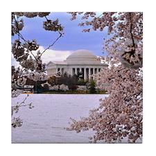 Thomas Jefferson Memorial Tile Coaster