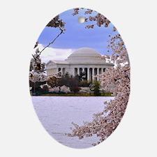 Thomas Jefferson Memorial Ornament (Oval)