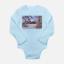 Thomas Jefferson Memorial Long Sleeve Infant Bodys