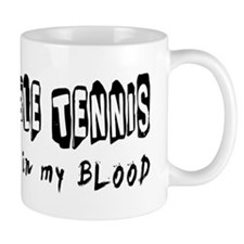 Table Tennis Designs Mug
