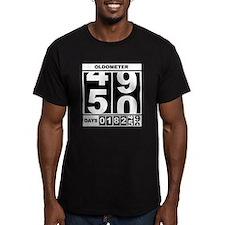50th Birthday Oldometer T-Shirt
