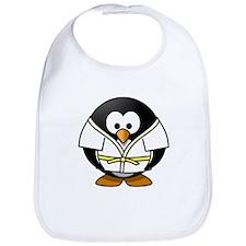Judo Penguin Bib