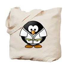 Judo Penguin Tote Bag