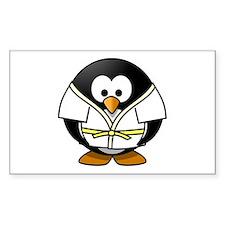 Judo Penguin Decal