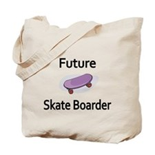 Future Skate Boarder Tote Bag
