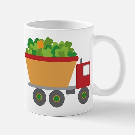 st patricks day dump truck Mugs